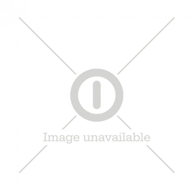 GP LED-filamentglobepære mini, E27, 1,2 W (15 W), 136 lm, 080558-LDCE1